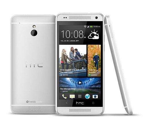 Estuche estanco al agua con entrada de auriculares para HTC One (M8) Mini + auricular incluido, transparente | Trotar bolsa de playa al aire libre caja brazalete del teléfono caso de cáscara bajo play