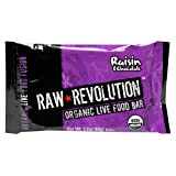 Raw Revolution Organic Live Food Bars, Raisin and Chocolate, 2.2-Ounce Bars (Pack of 12)