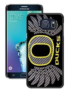 Unique Samsung Galaxy Note 5 Edge Skin Case ,Oregon Ducks black Samsung Galaxy Note 5 Edge Cover Fashionable And Durable Designed Phone Case