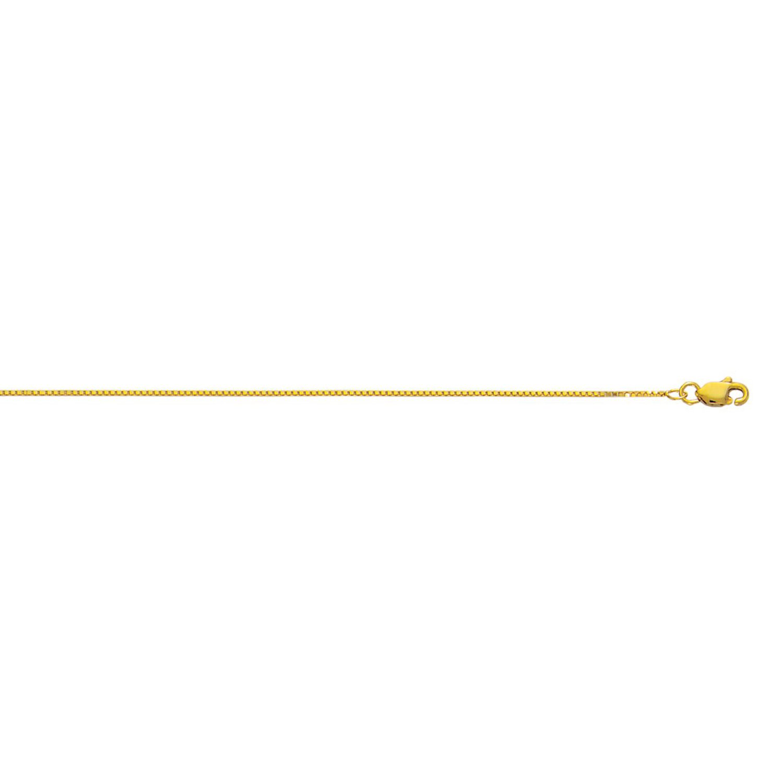 IcedTime 10K Yellow Gold Classic Box Chain 30 inch long