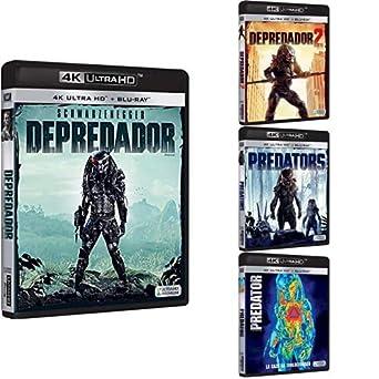 Pack Depredador - Incluye: Depredador + Depredador 2 + Predators + Predator 4k UHD Blu-ray: Amazon.es: Cine y Series TV