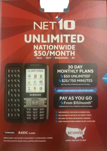 Samsung SCH-R451ZKGTRF R451C CDMA TracFone Net10 Prepaid ...