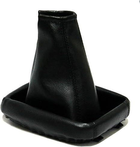 AERZETIX Soufflet de levier vitesse en simili cuir noir
