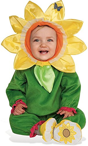 Rubie's Baby Sunflower Costume, As Shown, Toddler