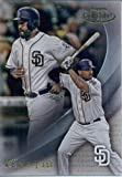 2016 Topps Gold Label Class 1 #97 Matt Kemp San Diego Padres Baseball Card in Protective Screwdown Display Case