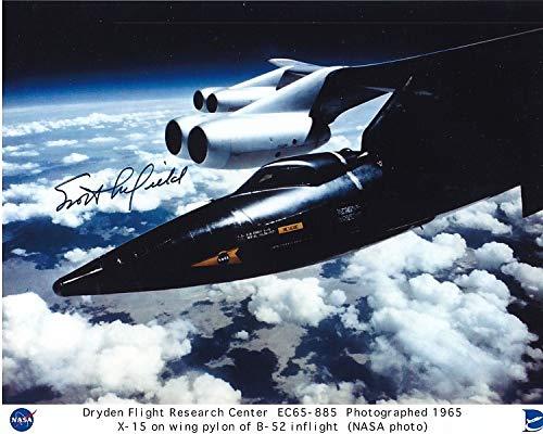 SCOTT CROSSFIELD signed autographed NASA TEST PILOT photo