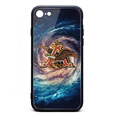 ORYSJDGTS Anheuser-Busch-Beer-Sign- Scratch Resistant iPhone 6 Accessories Lightweight Shockproof 9H Tempered Glass Hard Back iPhone 6s Case