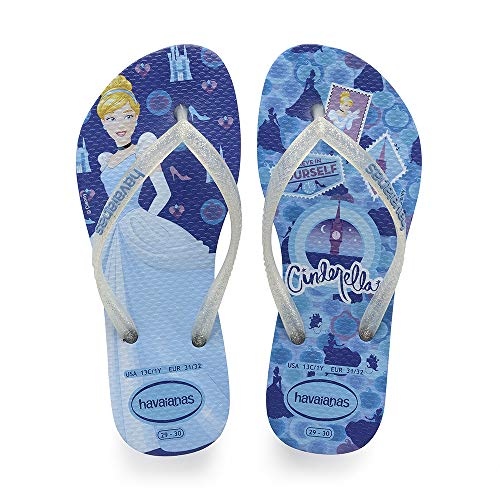 Multicolor Kids Chanclas Havaianas Princess Slim Star Para blue Niñas 3847 6YPqdwxPBa