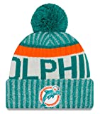 Miami Dolphins New Era 2017 NFL Sideline On Field ''Historic'' Sport Knit Hat