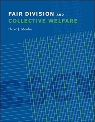 Fair Division and Collective Welfare (MIT Press)