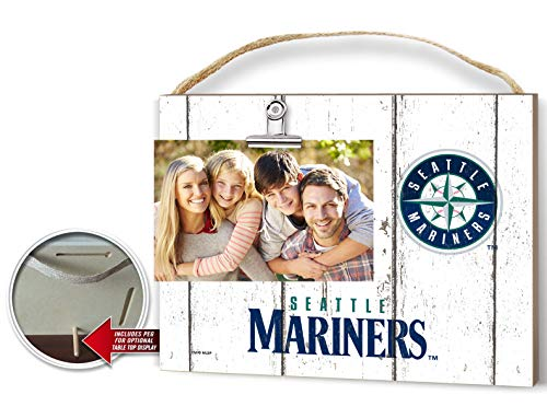 KH Sports Fan Clip It Weathered Logo Photo Frame (Clip It Weathered Logo Photo Frame Seattle - Mariners Frame Picture Seattle