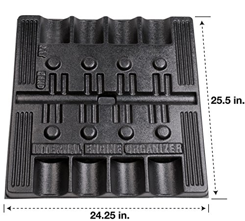 Goodson Organizer Tray for Chevy Small Block Parts   24'' x 25'' x 1-1/2'' by Goodson (Image #1)