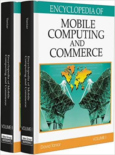 Encyclopedia of Mobile Computing and Commerce