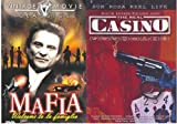 [4 Mafia Flicks] MOB WAR (Jake La Motta) / ESCAPE FROM DEATH ROW (Lee Van Cleef) / FAMILY ENFORCER (Joe Pesci) / THE REAL CASINO