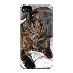 Special Design Back Brindle Bullmastiff Phone Case Cover For Iphone 4/4s