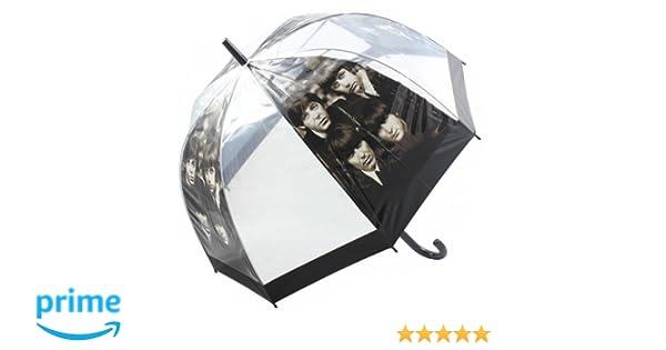81 cm los BEATLES paraguas cúpula transparente notebookbits caminar con forma de paraguas: Amazon.es: Hogar