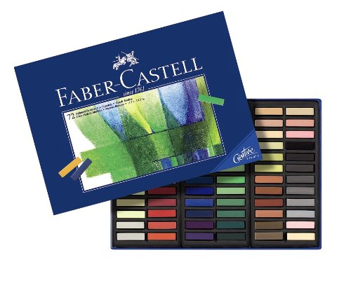 Faber-Castel FC128272 Creative Studio Soft Pastel Crayons (72 Pack), Assorted