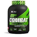 MusclePharm Combat 100% Whey Protein Powder, Strawberry, 5 Pound