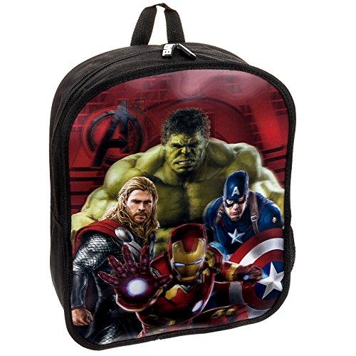 Marvel Comics Avengers Age of Ultron Avengers 3D Backpack Bag (Red)