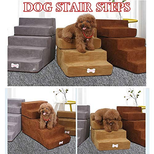 LYY 2019 New Pet Stairs Cats and Dogs Stairs Climbing Stairs Ladders Two Stairs by LYY
