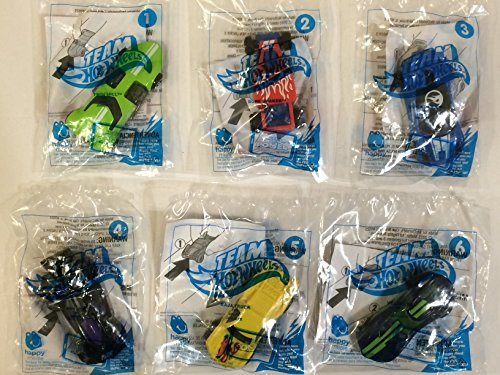 [2015 Mcdonald's Happy Meal Toys Hot Wheels 1-6] (Hot Wheels Happy Meal)