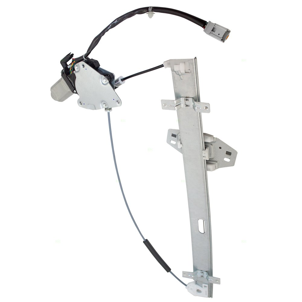 Drivers Front Power Window Lift Regulator /& Motor w// 6 Pin Connector Assembly Replacement for Acura 72210-S3V-A52