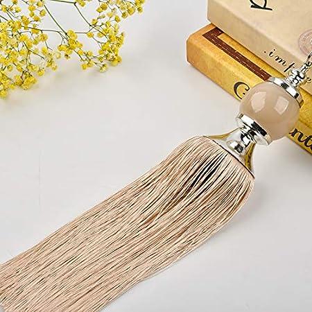 GCYED 2 Piezas Cortina Colgante Bola Simple Moderna Corbata Cuerda ...