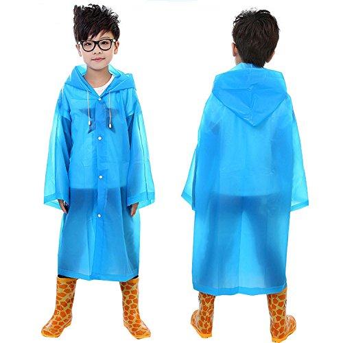 不公平ローン匹敵しますYideaHome子供 キッズ レインコート 男女兼用 軽い 合羽 梅雨 軽くて蒸れにくい 服が濡れずに体が冷えないので風邪を引きにくい