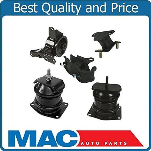 Kit Mount Shock Engine (Mac Auto Parts 124343 Acura 3.2L TL CL Honda Accord 3.0 V6 Engine Motor Transmission Mount Kit)