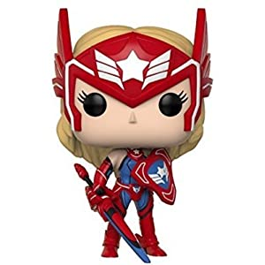 Funko POP! Games: Marvel Future Fight Sharon Rogers Collectible Figure, Multicolor
