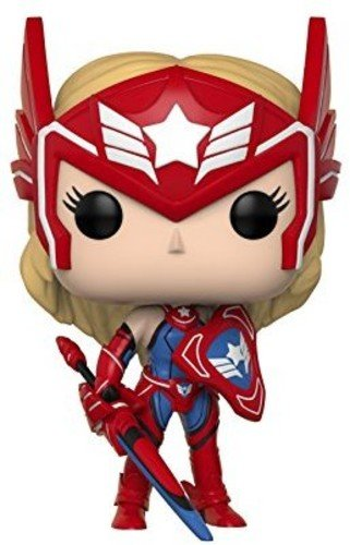 Funko Pop Games: Marvel-Future Fight-Sharon Rogers Collectib