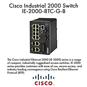 Amazon Com Cisco Ie 2000 8tc G B Industrial Ethernet 2000