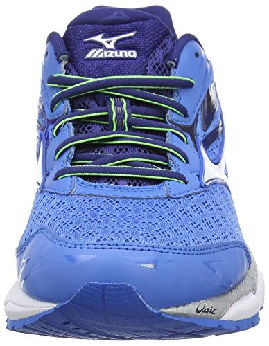 Mizuno Herren Wave Inspire 12 Laufschuhe Blau (French Blue/White/Twilight Blue)
