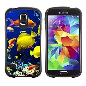 Suave TPU GEL Carcasa Funda Silicona Blando Estuche Caso de protección (para) Samsung Galaxy S5 / CECELL Phone case / / Underwater Coral Reef Diving Scuba Fish /