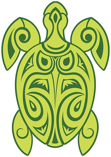 Used, Hawaiian Art Decal - Car Window Bumper Sticker - Tribal for sale  Delivered anywhere in Canada