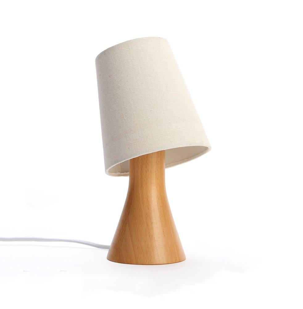Europäische Original Holz Tischlampe Wohnzimmer Studie Schlafzimmer Bedside Lampe Kreative Dimmable Nachtlicht ohne Lichtquelle Energie sparen
