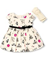 The Children's Place Girls' Sateen Printed Dress Set