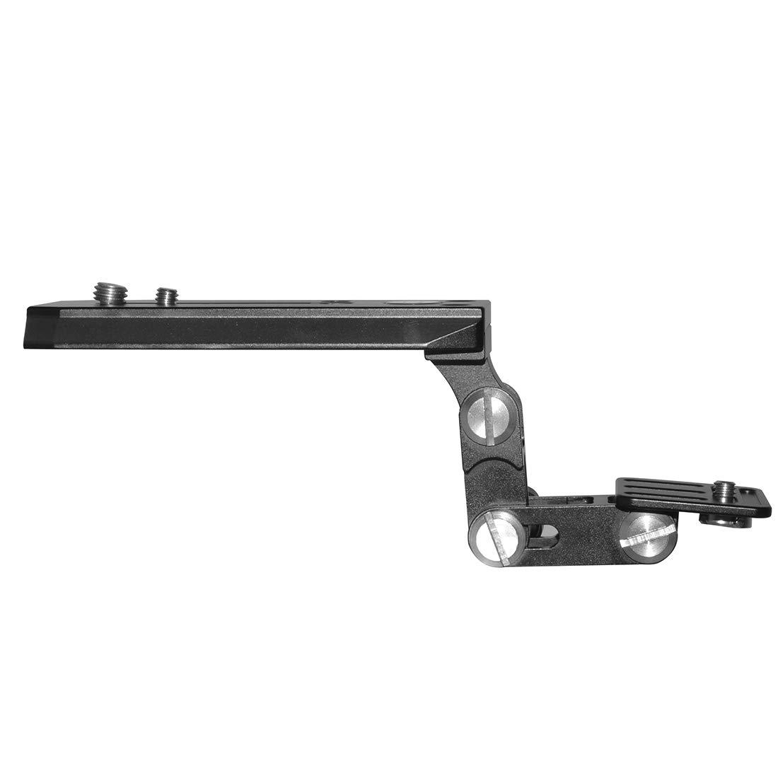 XT-XINTE Telephoto Lens Long Focus Holder Support Bracket Kit 120mm QR Base Plate for Bird Watching SLR Camera Manfrotto Tripod