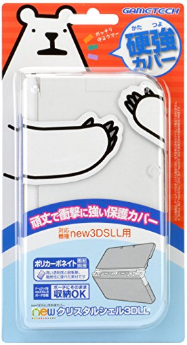 GAMETECH new3DS XL Hard Clear Crystal Cover -Clear-