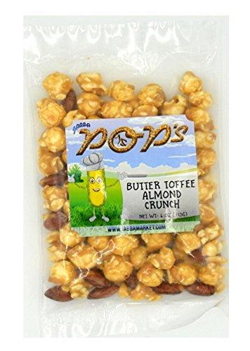 Butter Toffee Almond Crunch 3 pack - JABBA POP'S