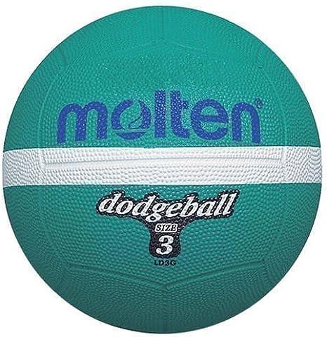 Molten Ld3g - Pelota para balón prisionero (talla 3), color verde ...