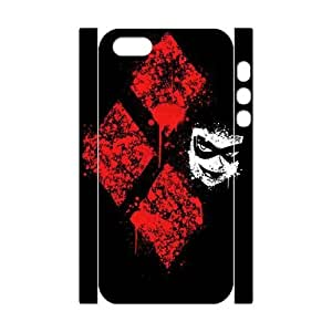 Brand New Phone 3D Case for iPhone 5,5S with diy Harley Quinn