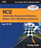 McSa/Mcse 70-291 Training Guide, Dave Bixler and Will Schmied, 0789729482