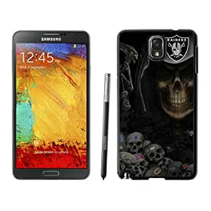 Unique Note 3 Case,Oakland Raiders Black Phone Case For Samsung Galaxy Note 3 Cover Case