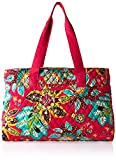 Cheap Vera Bradley Women's Triple Compartment Travel Bag