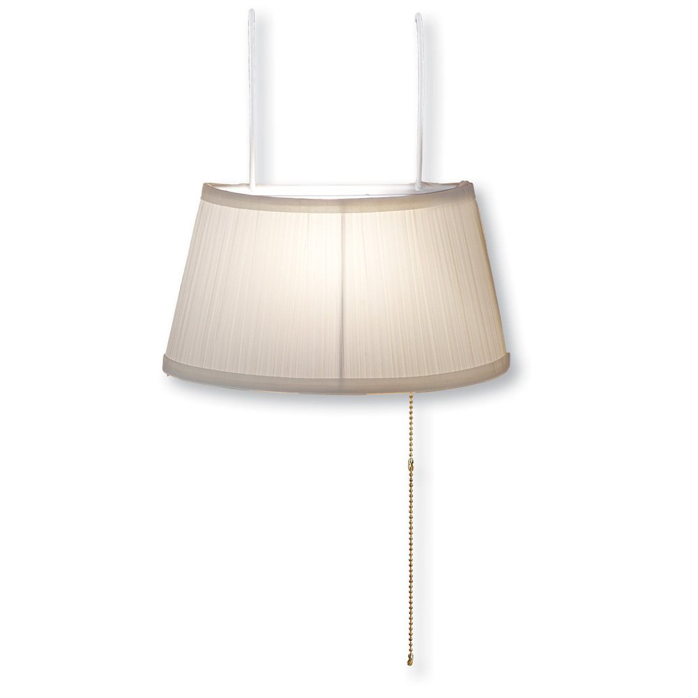 Over the Bed Lamp, Ivory by Collections Etc (Image #1)