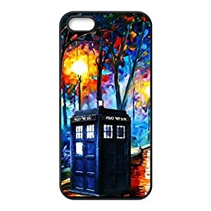 SUUER Custom Doctor Who Tardis Design Skin Personalized Custom Hard CASE for iPhone 4 4s Durable Case Cover