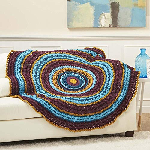 Herrschners® Midnight Jewels Afghan by Herrschners® (Image #1)