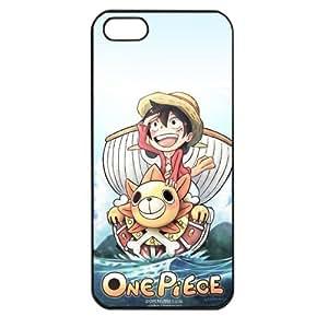 One Piece popular Anime Manga Cartoon Monkey D. Luffy Comic iPhone 5 Soft Black or White case (Black) by Maris's Diary