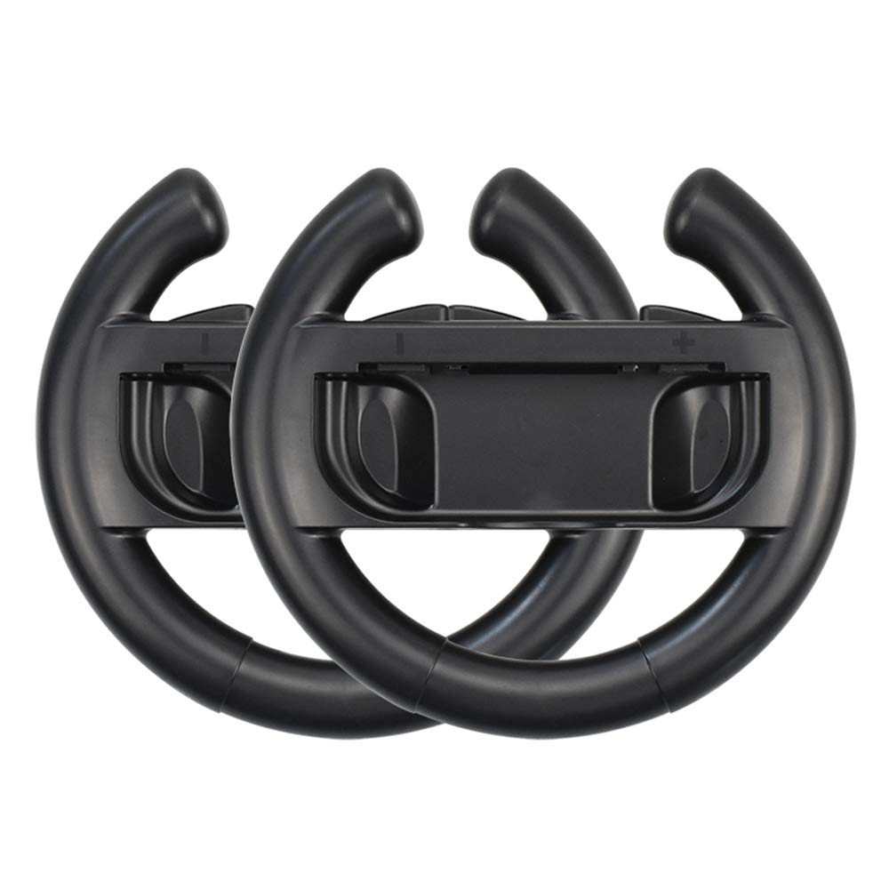 Docooler Une Paire de Roues de Jeu Manette de Jeu Contrôleur de Jeu Volant Accessoires de Jeu Compatible avec Le contrôleur Joy-Con Controller